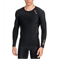 a08fdcd36e SKINS Men's A400 Compression Long Sleeve Top
