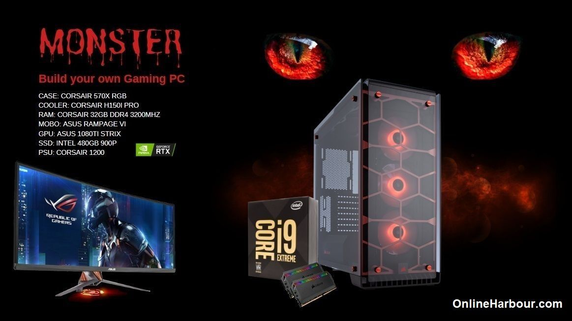 Build Your Own MONSTER Gaming PC – Online Harbour