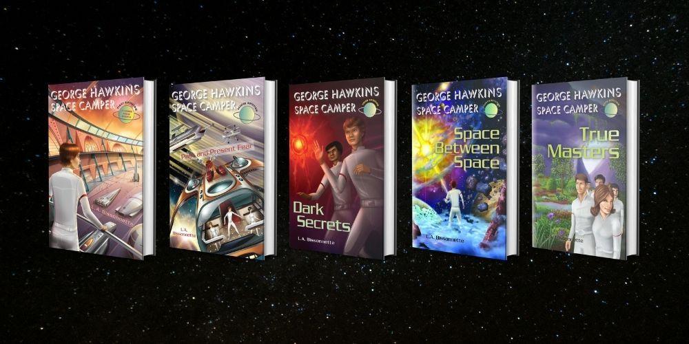 The George Hawkins Space Camper book Series_OnlineHarbour