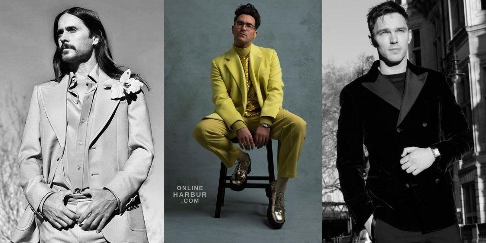 Golden Globes 2021 – Red Carpet Men Fashion on OnlineHarbour website