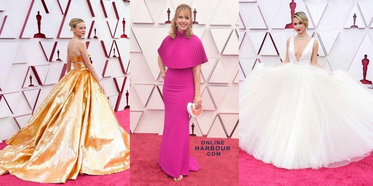 Oscars 2021 Academy Awards Red Carpet Fashion Womens Best Dresses