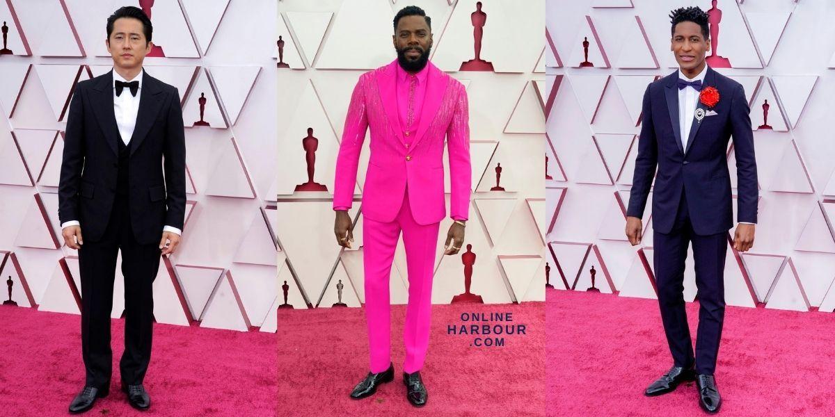 Oscars 2021 Academy Awards Red Carpet Men Fashion