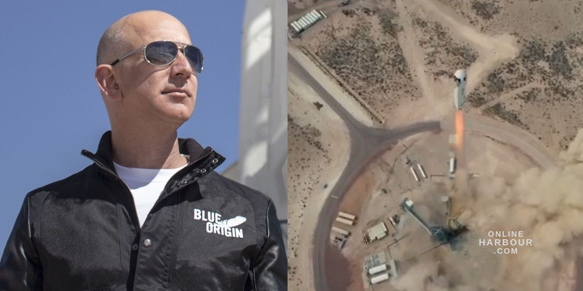 Jeff Bezos plans to fly into space with his brother