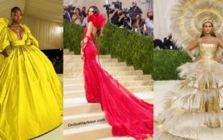 Met Gala 2021 Best Celebrity Dresses and Looks _Online Harbour