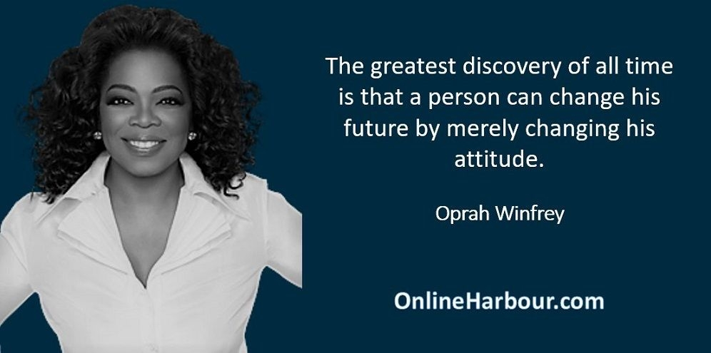 Oprah Winfrey New Year Quotes: Online Harbour
